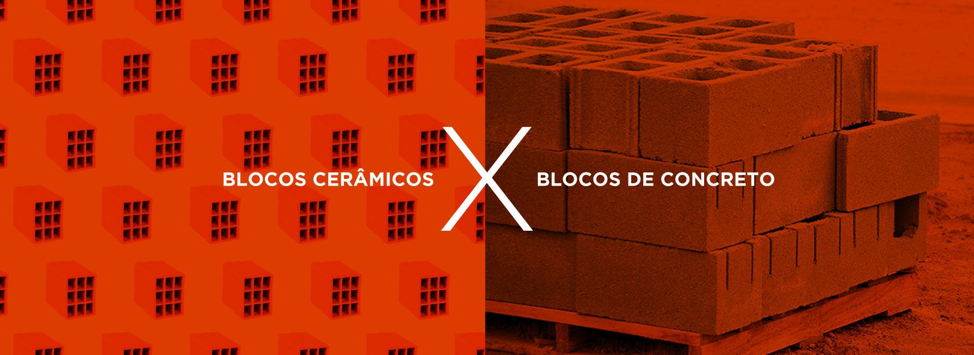 You are currently viewing Bloco cerâmico X bloco de concreto: entenda quais são as diferenças